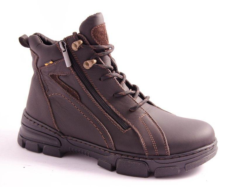 Ботинки подростковые коричневые Esco 255