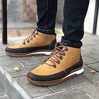 Кожаные мужские кроссовки зима L-Style 3590 ж/кор размеры 41,42,43, фото 1