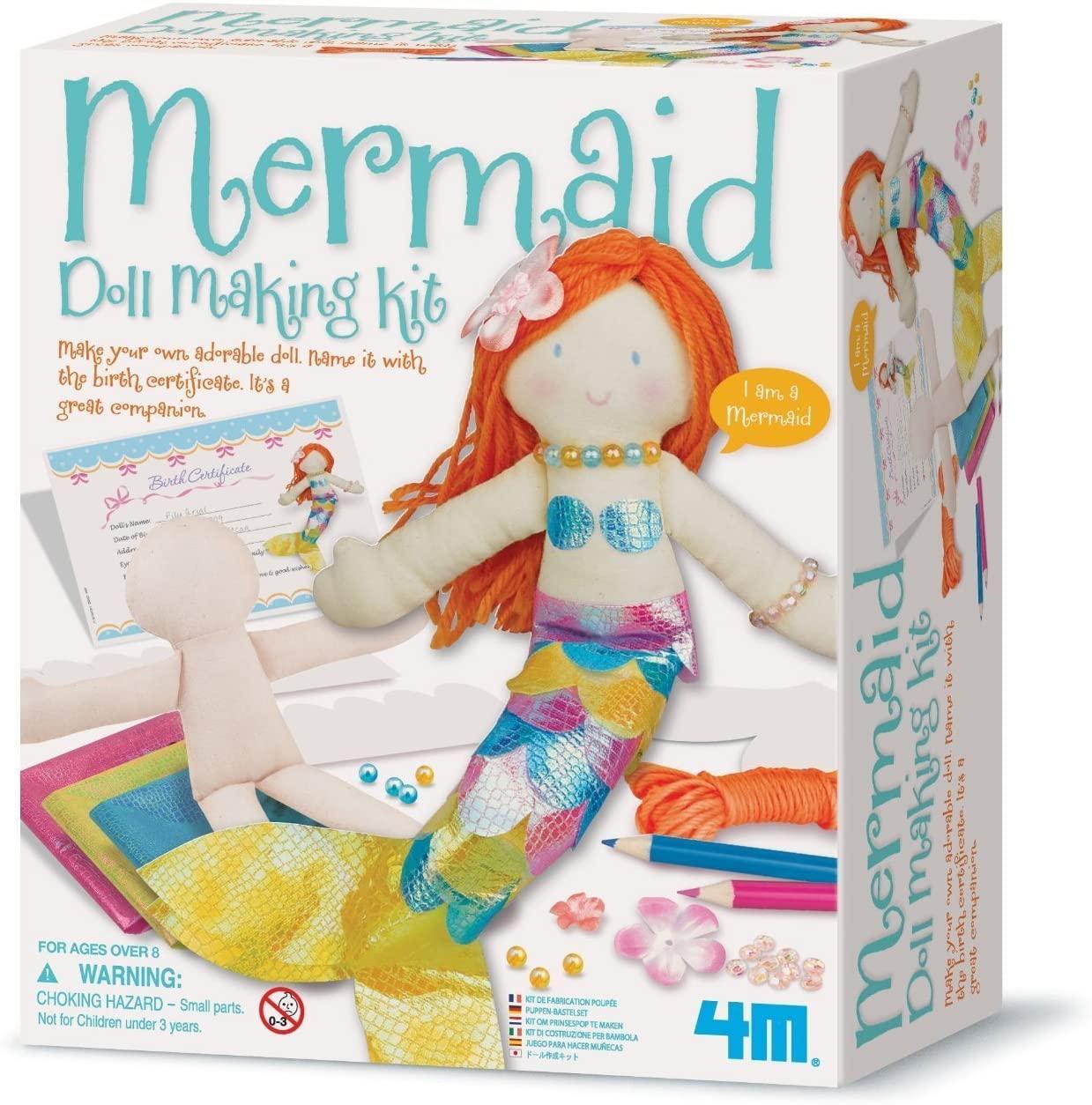 Набор для творчества Кукла-русалка 4M 00-02733