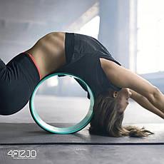 Колесо для йоги и фитнеса 4FIZJO Dharma 4FJ1448 Green, фото 2