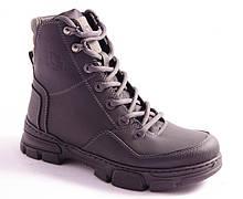 Ботинки подростковые черные Esco 263