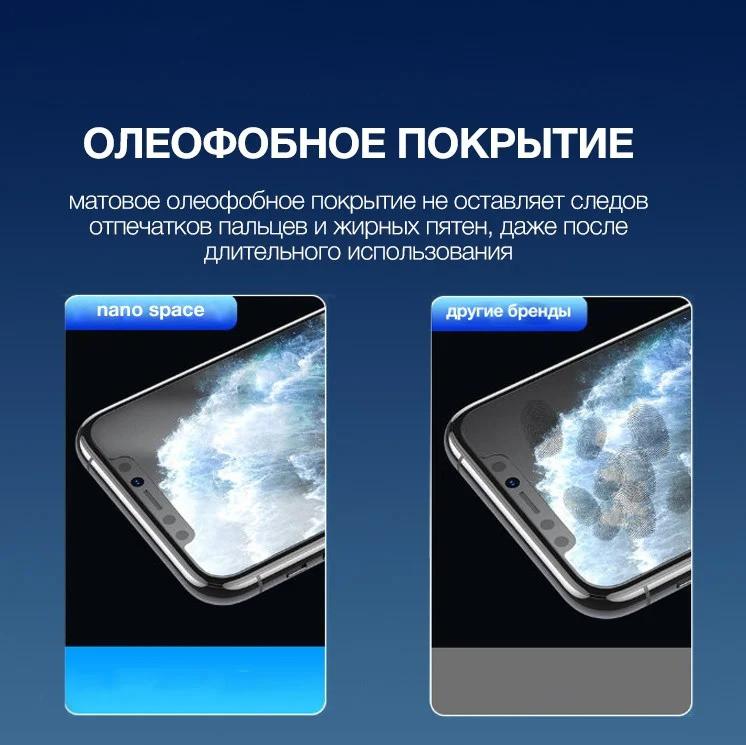 Универсальная сверхпрочная гидрогелевая пленка для телефона  Xiaomi Mi 9T Pro радужная Аврора