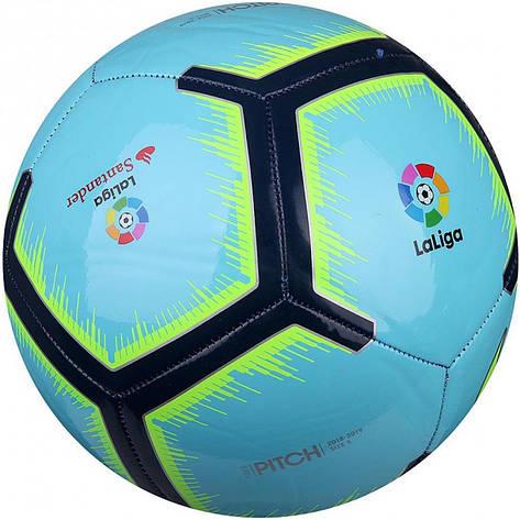 Мяч футбольный Nike La Liga Pitch SC3318-483 Size 5, фото 2