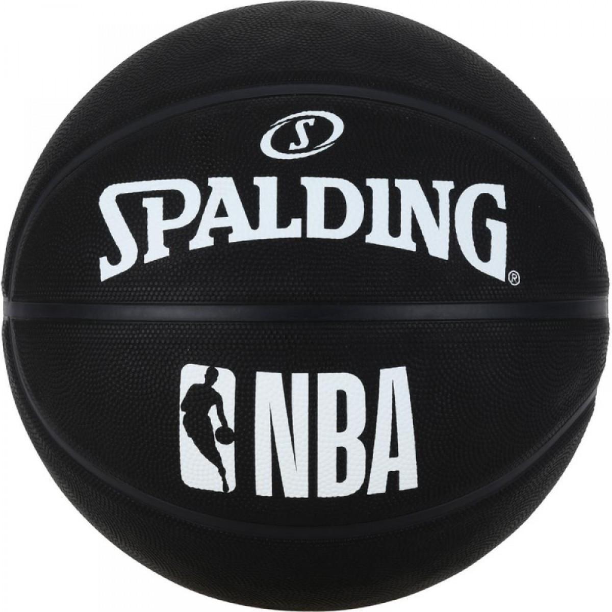 Мяч баскетбольный Spalding NBA Black Size 7