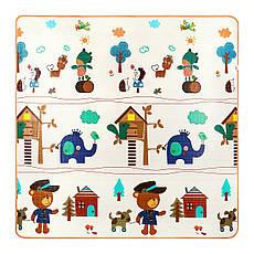 Развивающий детский коврик двухсторонний 4FIZJO KIDS 180 x 180 x 1 см 4FJ0161, фото 3