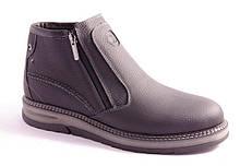 Ботинки мужские черные Esco 1411/1