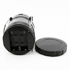 Фонарь Спартак G85 лампа для кемпинга USB солнечная панель powerbank Черный (004355), фото 2