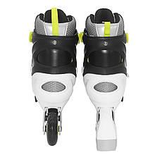 Роликовые коньки SportVida SV-LG0051 Size 31-34 Grey/Yellow, фото 2