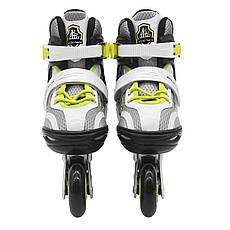 Роликовые коньки SportVida SV-LG0051 Size 31-34 Grey/Yellow, фото 3