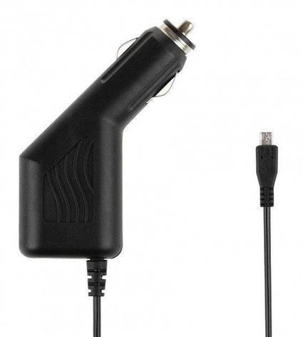Автомобильное зарядное устройство Спартак DVR  для GPS навигатора microUSB Черный (006735), фото 2