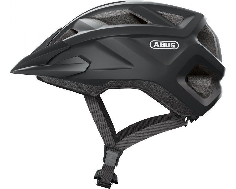 Велосипедний дитячий шолом ABUS MOUNTZ M 52-57 Velvet Black (869662)