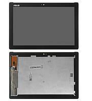 Дисплейный модуль для ASUS Z300CNL Z300M ZENPAD 10, черный, желтый шлейф, # FT5826SMW, TV101WXM-NU1