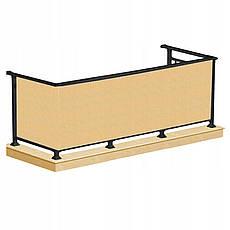 Ширма для балкона (балконный занавес) Springos 0.8 x 5 м BN1015 Biege, фото 2
