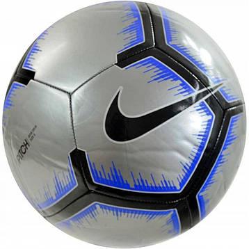 Мяч футбольный Nike Pitch SC3316-095 Size 5, фото 2
