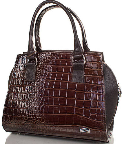 Потрясающая женская сумка из качественного кожезаменителя ETERNO (ЭТЕРНО) ETMS3516910-brown (коричневый)