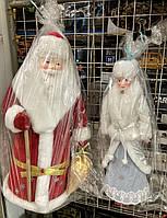 Дед мороз и Снегурочка  под Ёлку  фигурка 50см