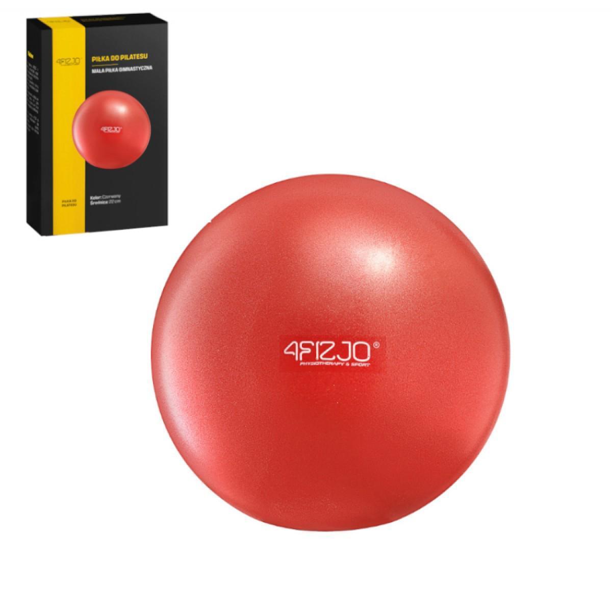 Мяч для пилатеса, йоги, реабилитации 4FIZJO 22 см 4FJ0138 Red
