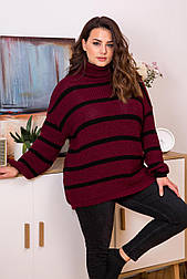 Теплый уютный свитер-оверсайз «Табби»