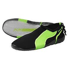 Обувь для пляжа и кораллов (аквашузы) SportVida SV-GY0004-R43 Size 43 Black/Green, фото 2