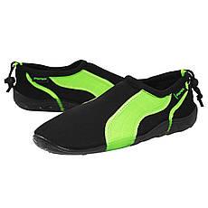 Обувь для пляжа и кораллов (аквашузы) SportVida SV-GY0004-R43 Size 43 Black/Green, фото 3