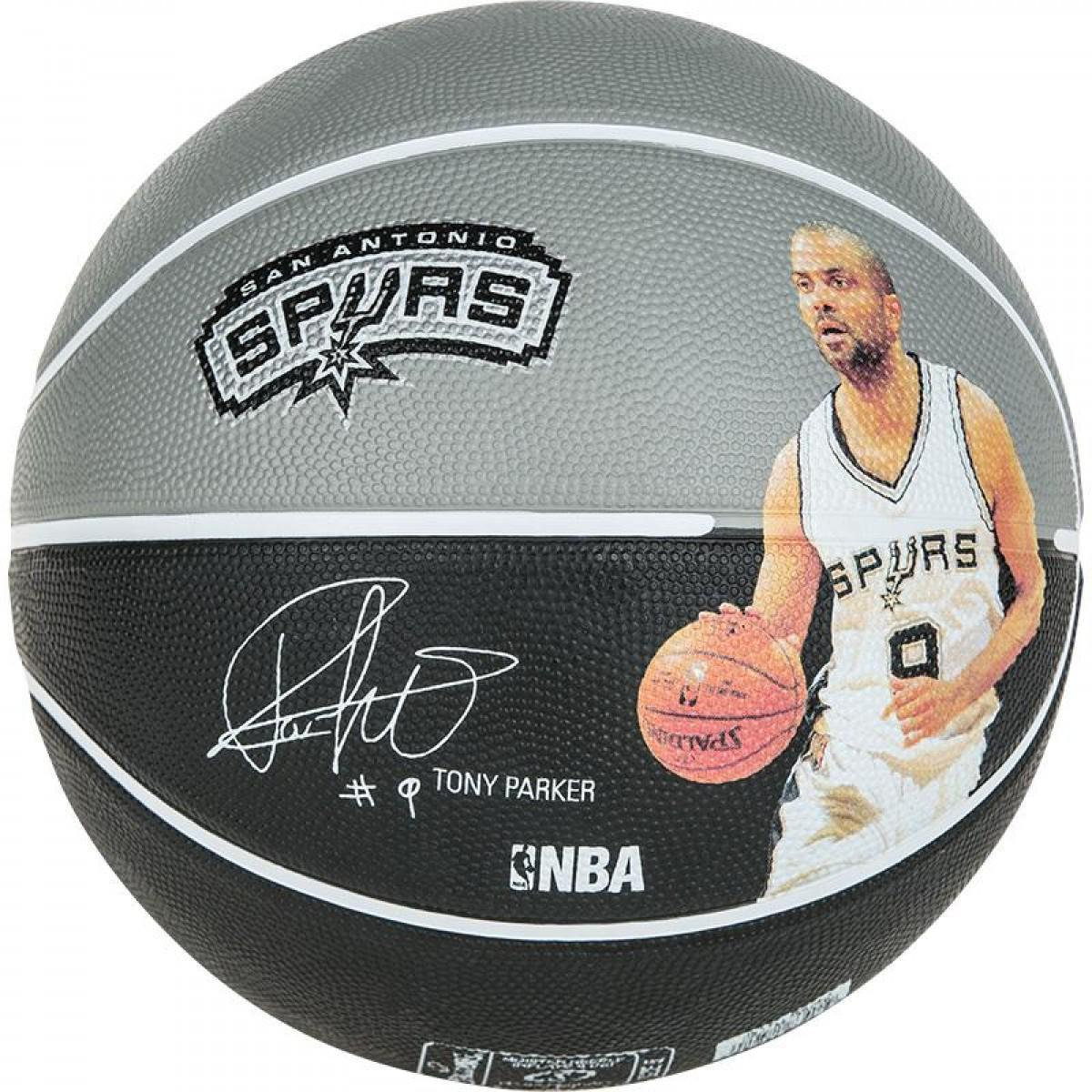 Мяч баскетбольный Spalding NBA Player Tony Parker Size 7