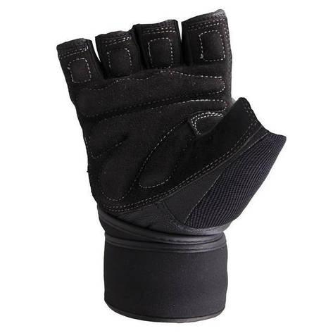Мужские перчатки для фитнеса Spokey TORO XL Черный (s0302), фото 2