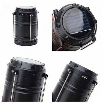 Кемпинговый Power Bank фонарь Good Idea Черный (tr1289i1005), фото 2