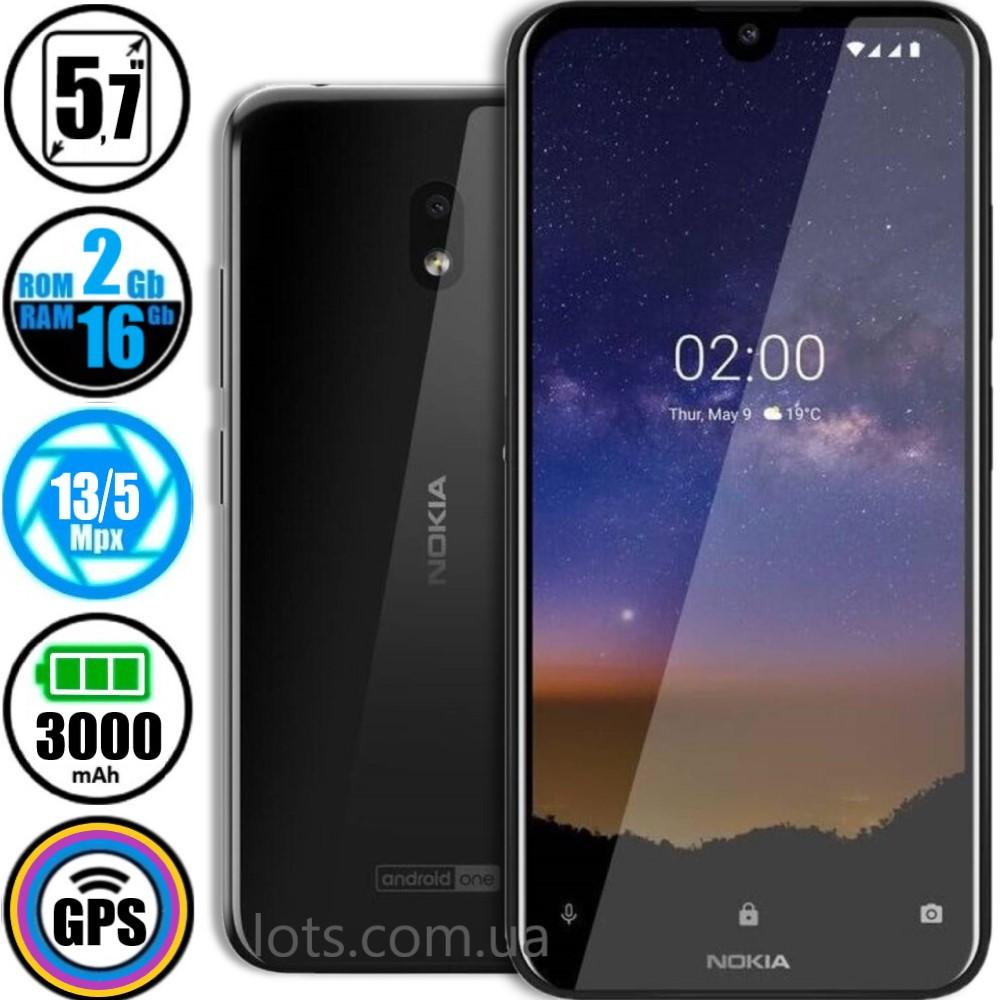 Смартфон Nokia 2.2 DS (2/16GB) Black