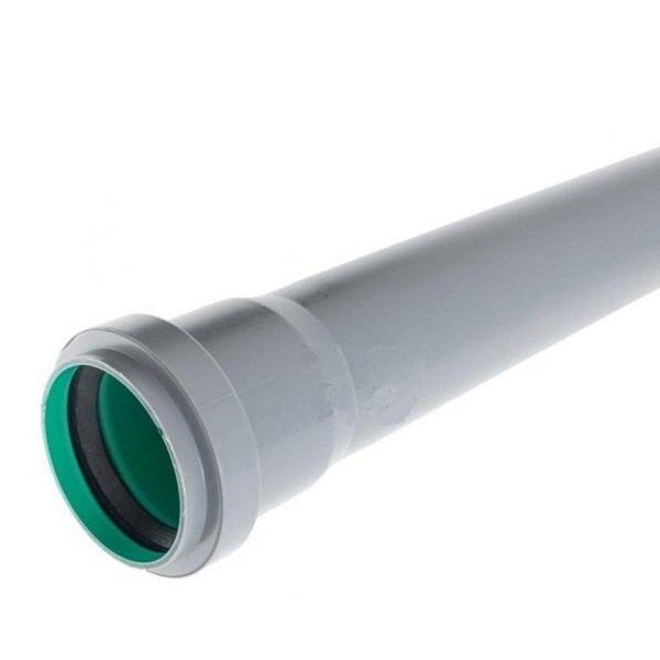Труба трехслойная д.50х3м для канализации Инсталпласт