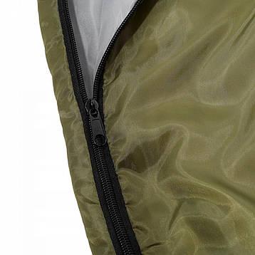 Спальный мешок SportVida SV-CC0012 Green/Grey, фото 2