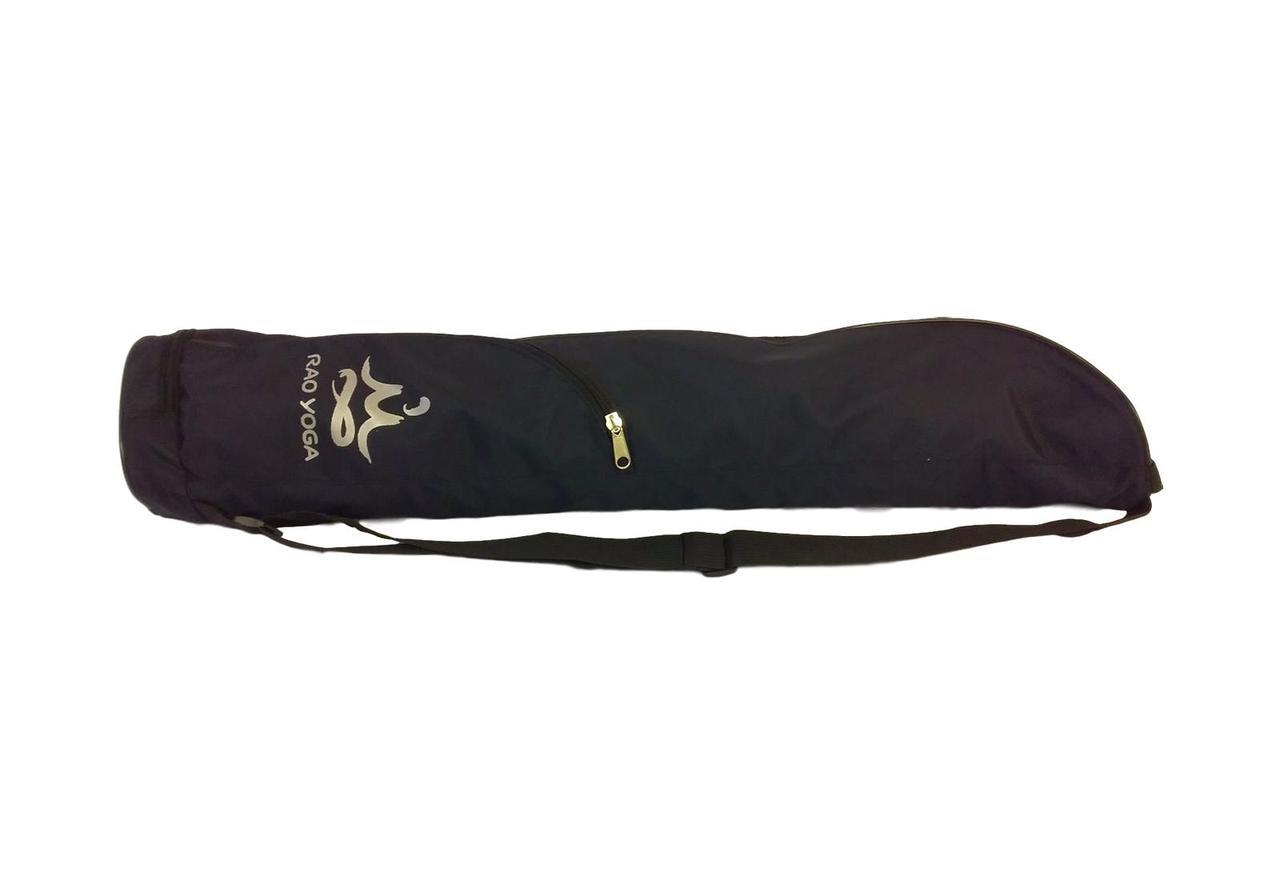 Сумка-чехол для йога-мата RAO Садхана RAO 75 х 19 см Темно-синий (hub_nMJA80853)