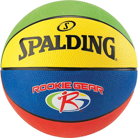 Мяч баскетбольный Spalding Jr. NBA/Rookie Gear Outdoor Size 5, фото 2