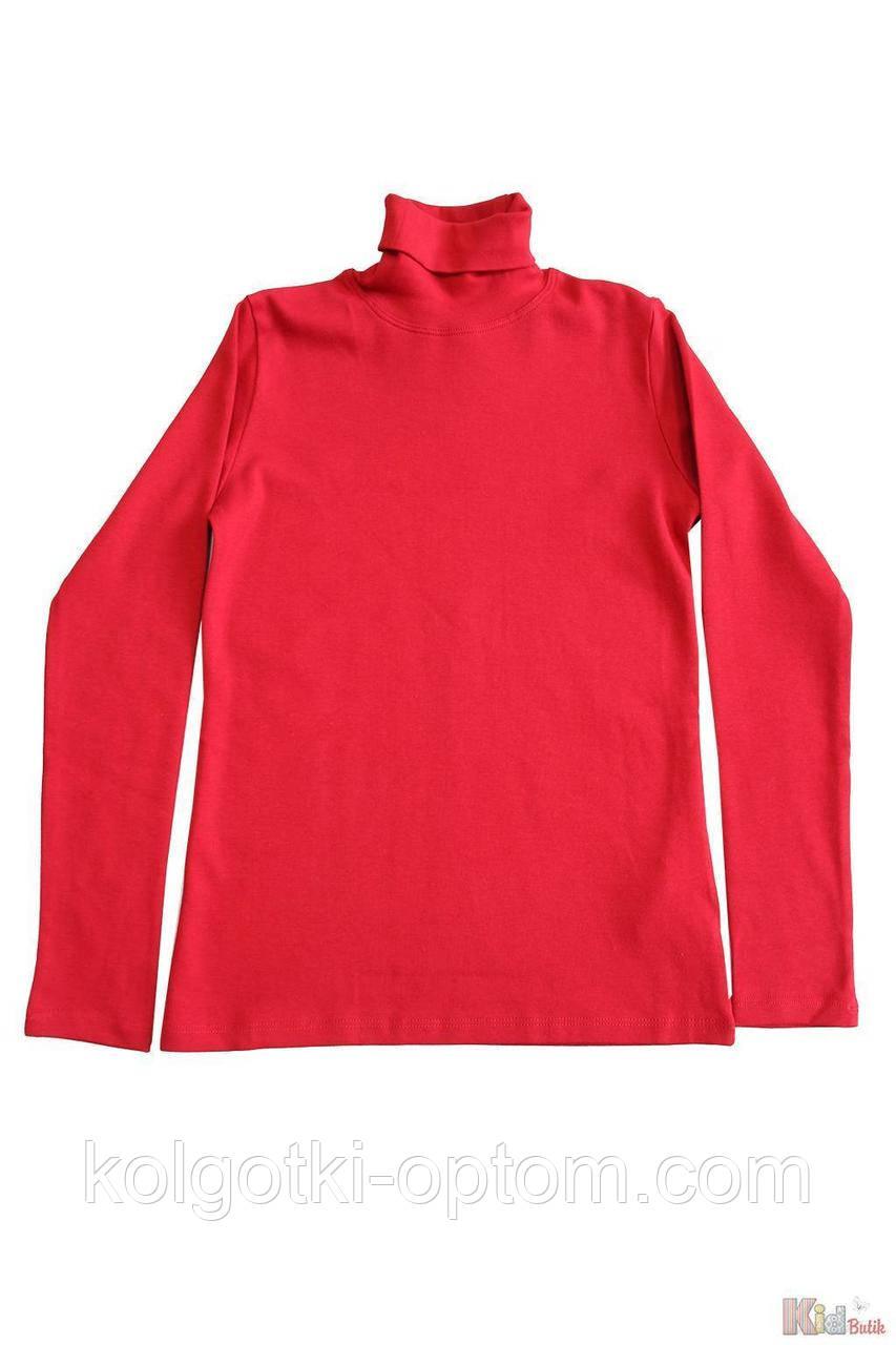 ОПТОМ Гольф красный базовый для старшей девочки-подростка (158 см.)  Lovetti 2125000697536