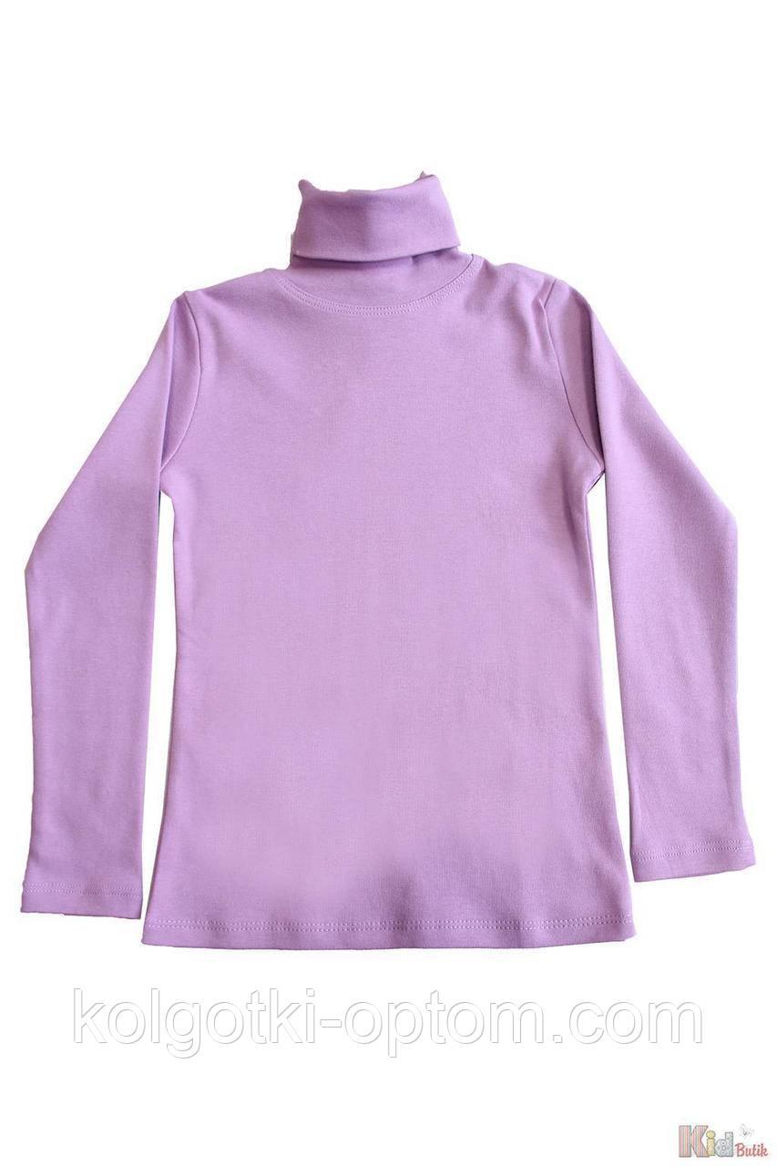 ОПТОМ Упаковка (158-164-170-176)  Гольф фиолетовый базовый для старшей девочки-подростка Lovetti 1111000001832