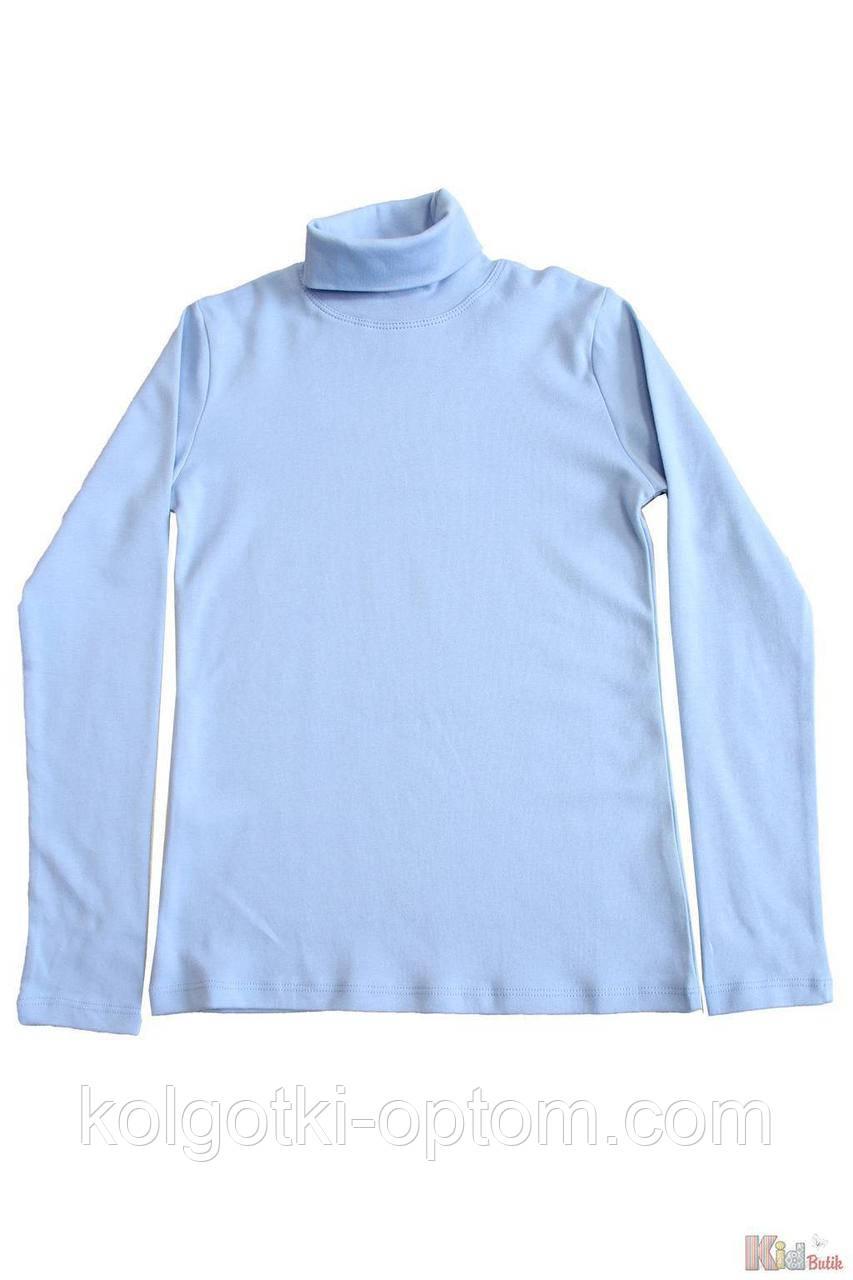 ОПТОМ Гольф светло-синий базовый для старшей девочки-подростка (158 см.)  Lovetti 2125000697505