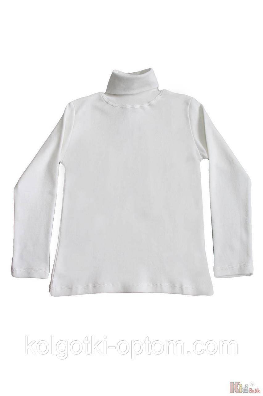 ОПТОМ Упаковка (158-164-170-176)  Гольф молочный базовый для старшей девочки-подростка Lovetti 1111000001818