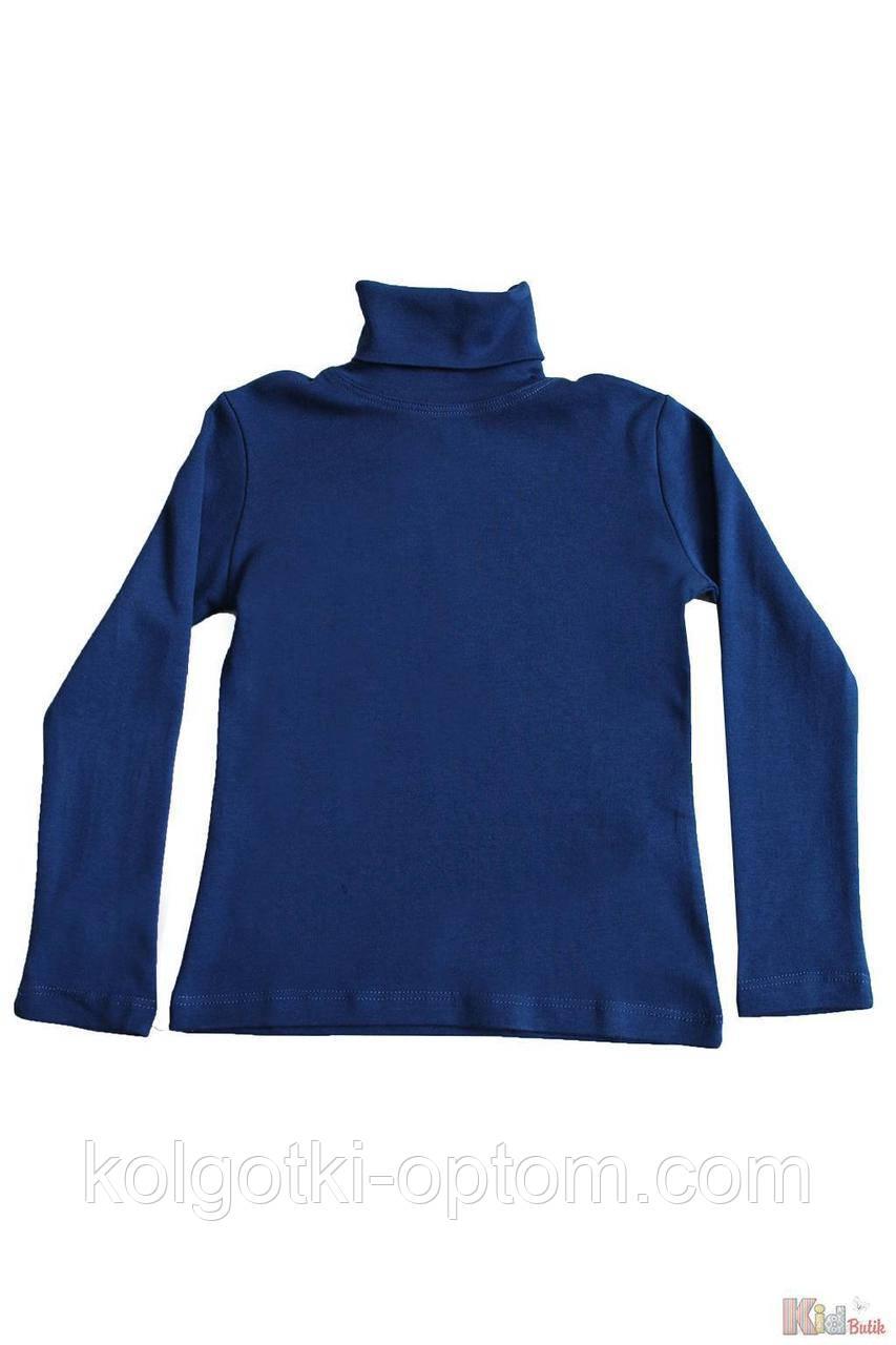 ОПТОМ Упаковка (158-164-170-176)  Гольф цвета индиго базовый для старшей девочки-подростка Lovetti