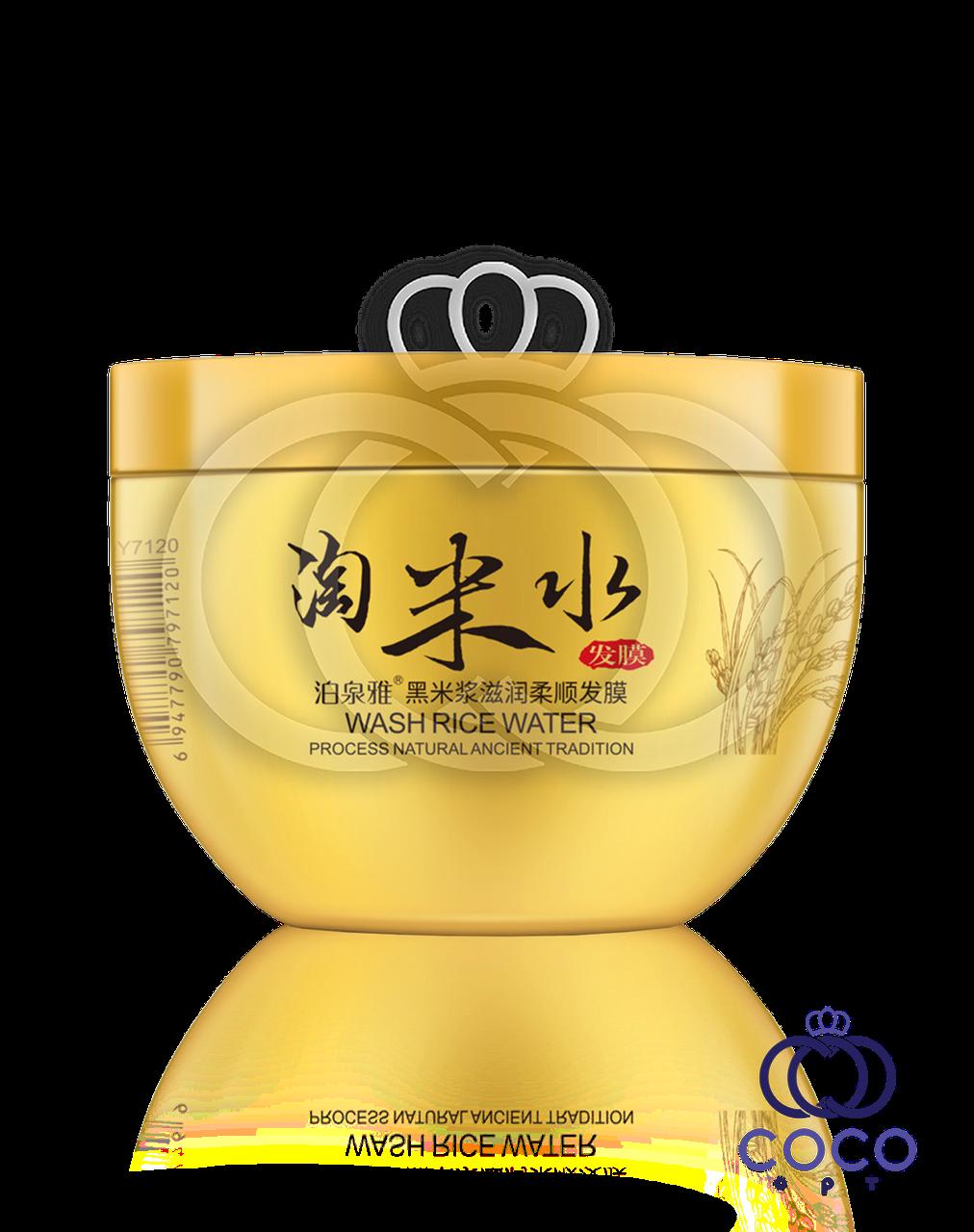 Маска для волос укрепляющая Bioaqua Wash Rice Water с рисовой водой