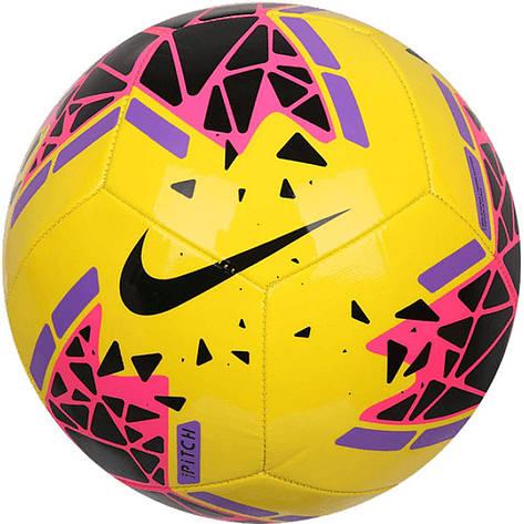 Мяч футбольный Nike Pitch SC3807-710 Size 5, фото 2