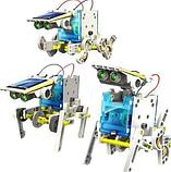 Конструктор робот на солнечной батарее- 14 in 1 Educational Solar Robot, фото 4