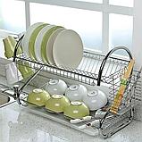 Стойка для хранения посуды Kitchen storage rask, фото 2