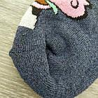"""Носки мужские махровые """"Новый год"""" высокие GRAND р25-27 джинс, фото 5"""