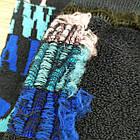 """Носки женские махровые """"Новый год"""" высокие GRAND р23-25 тёмно-синие, фото 4"""
