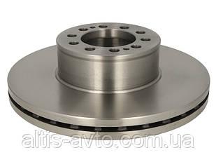 Передній гальмівний диск MAN 8.183, L2000 (передній діаметр 335 мм)