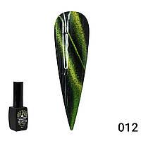 Гель лак кошачий глаз 24d galactic Global fashion 8 мл 12 Гель-лак для ногтей Стойкий гель лак