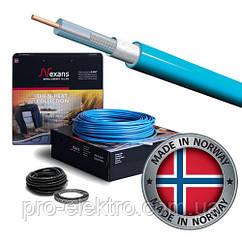 Одножильный экранированный нагревательный кабель Nexans TXLP/1-1400/17