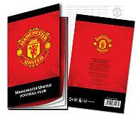 Блокнот с твердой обложкой Manchester Utd Kite, 80 листов, А5