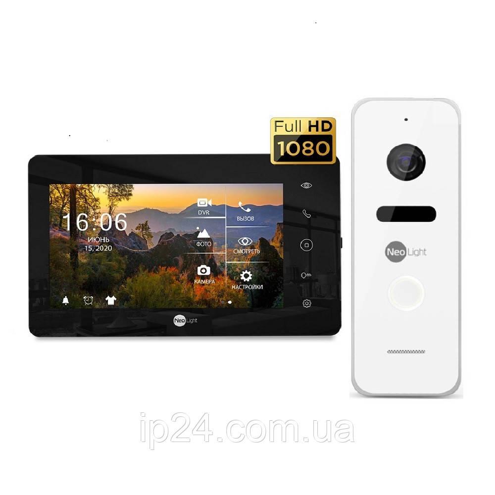 Комплект домофона Neolight NeoKIT HD+ Black/White