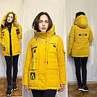 Зимняя Женская Парка Куртка Visdeer Утеплитель Тинсулейт Фабрика Китай Размеры M, XXL, фото 7