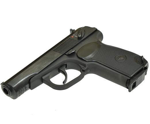Пневматичний пістолет байкал мр658к(мр654к) черн. рук. blowback, фото 2